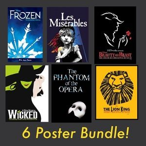 Broadway Musical Posters
